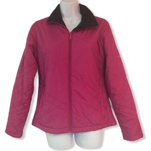 Columbia Magenta Quilted Coat